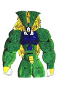 Cell Final Form from the Dark Galaxy Saga